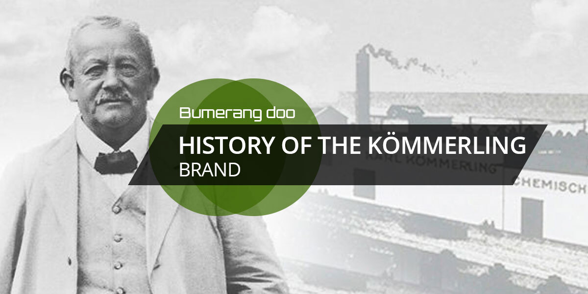 You are currently viewing History of the KÖMMERLING brand