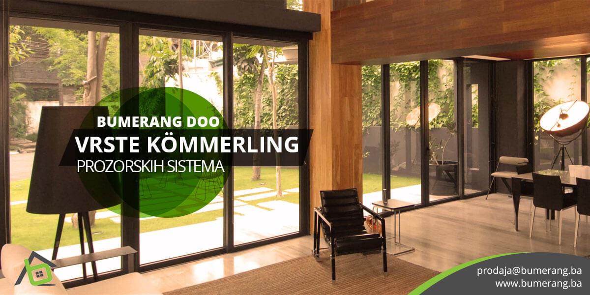 Kvalitet KÖMMERLING PVC sistema