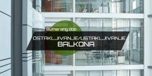 Read more about the article Ostakljivanje / Ustakljivanje balkona