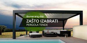 Read more about the article Zašto izabrati pergola tende?