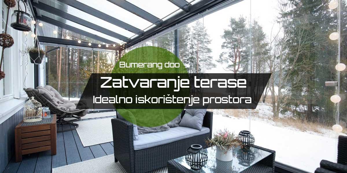 You are currently viewing Zatvaranje terase – Idealno iskorištenje prostora