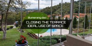 Read more about the article Closing the terrace – Ideal use of space