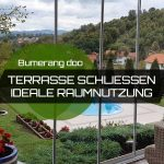 Schließen der Terrasse – Ideale Raumnutzung