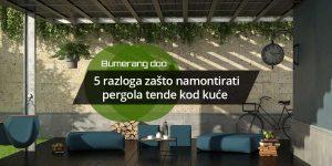 Read more about the article 5 razloga zašto namontirati pergola tende kod kuće