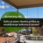 Zašto je jesen idealna prilika za ostakljivanje balkona ili terase?
